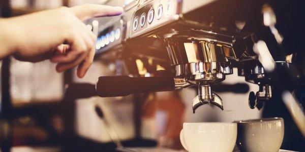 blending coffee
