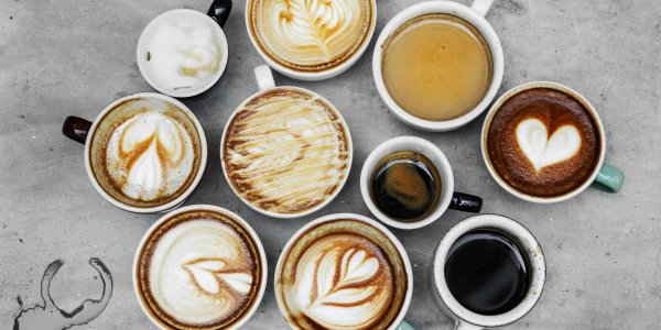 coffee, cappuccino, and latte macchiato with Brasilmoka products