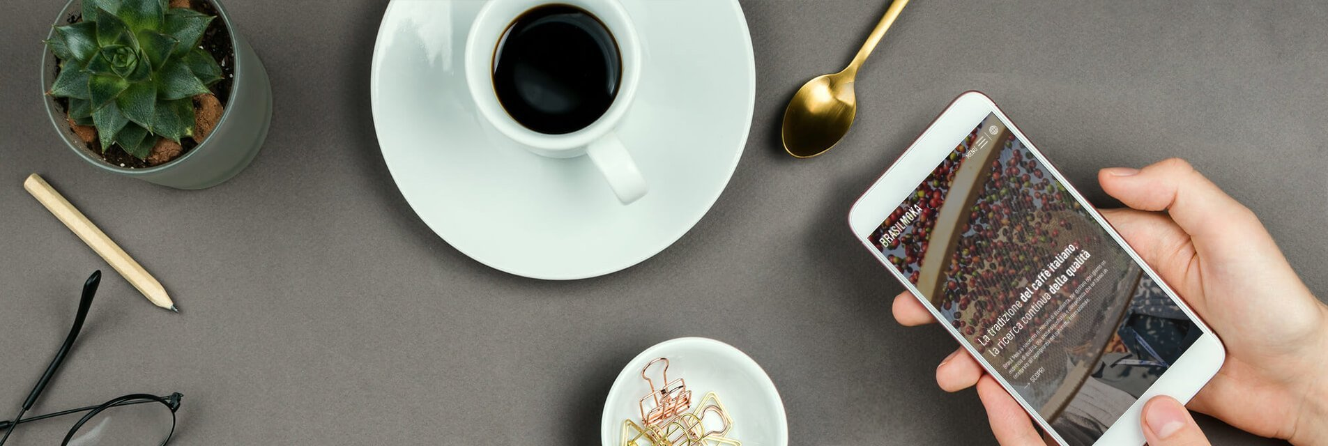 Sedi e contatti di Brasilmoka, il leader nella distribuzione caffè