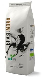 Confezione Caffè in grani biologico 1000g di Brasilmoka